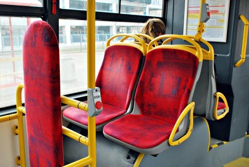 Ustępuj miejsca w autobusie-cyclovena