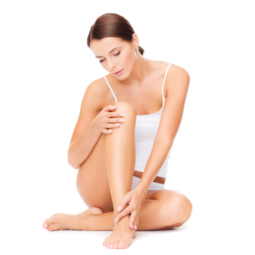 Nogi kobiety cyclovena